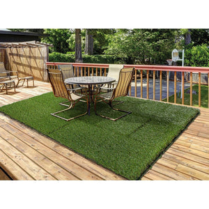 15mm Artificial Grass - Luxury Turf Artificial Lawn Astro Natural Green Garden