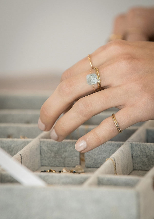 How To Stack Your Rings With Elegance