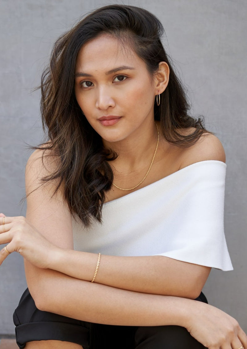 Figaro Dainty Chain Necklace