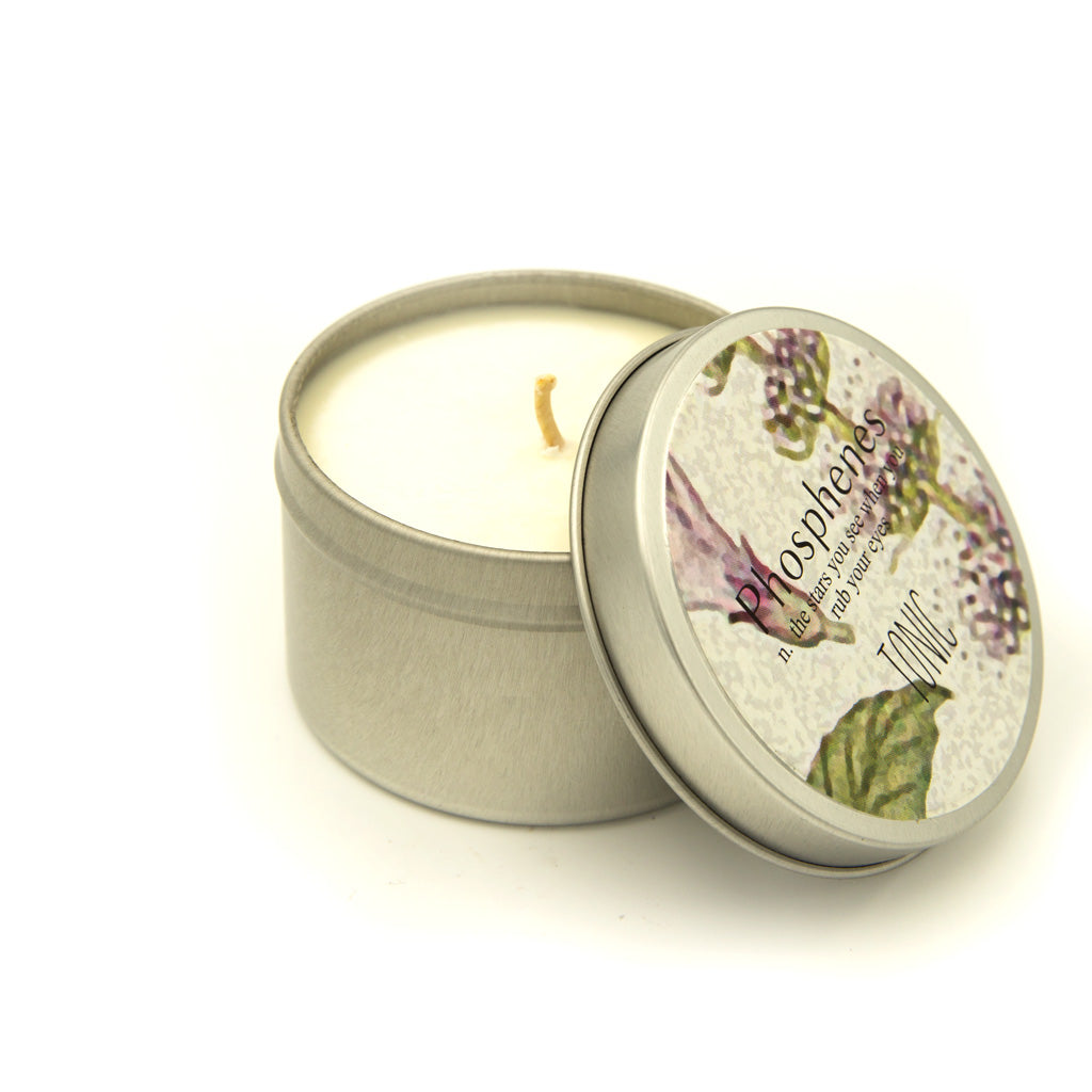 Hand Poured Travel Tin Soy Candle - Various fragrances