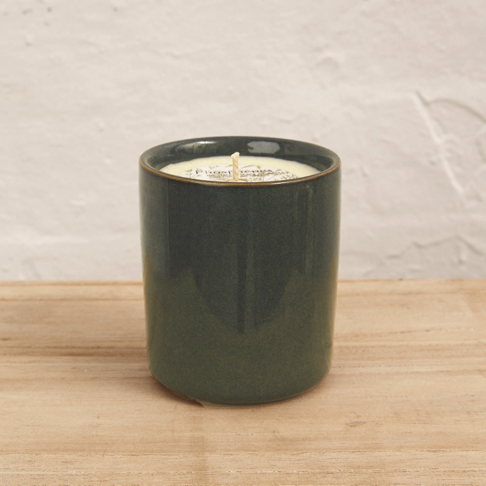 Hand Poured Soy Candle in Ceramic Cup - Various Fragrances