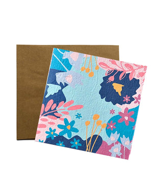 Seed Gift Card + Envelope Floral