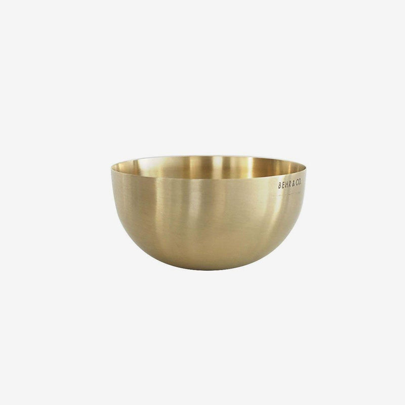 Bowl | Brass Bowl Behr & Co