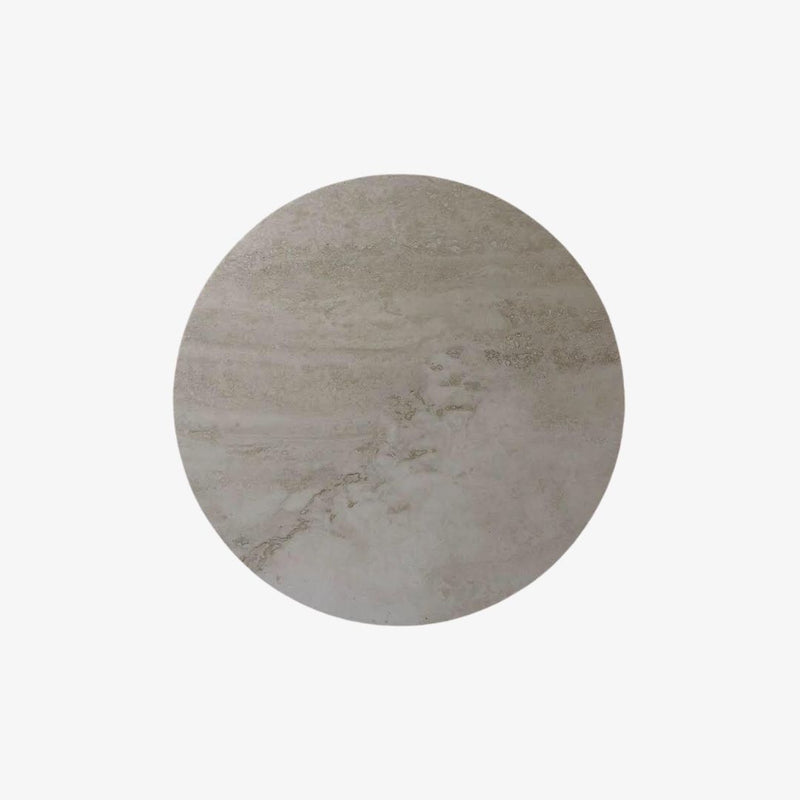 Circle Stone Trivet | Travertine Trivet Behr & Co