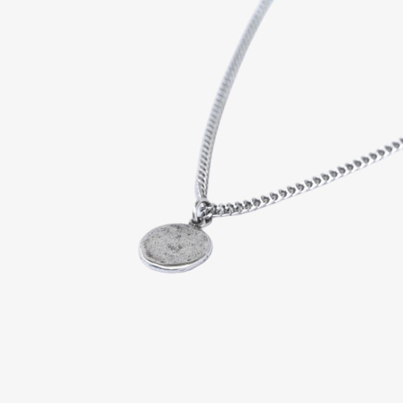 Full Moon Pendant Necklace Olivier Melbourne