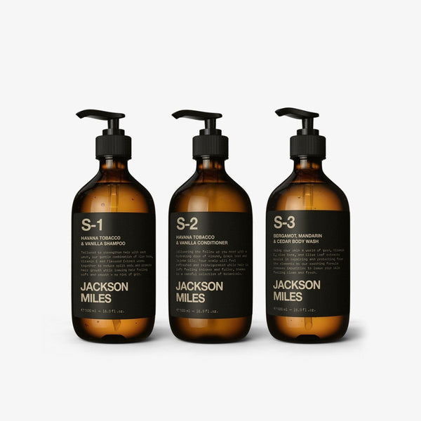 Gift Pack | The Essentials Kit Hair Grooming Kit Jackson Miles