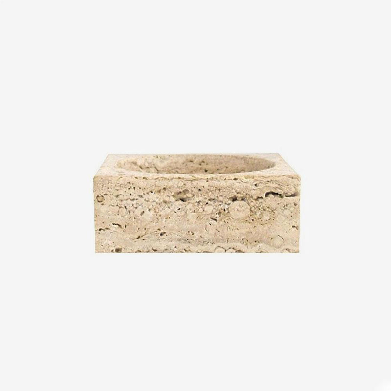 Incense Holder Bowl | Travertine Incense Holder Behr & Co