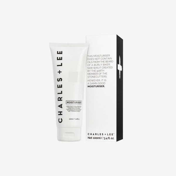 Moisturiser 100ml Face Moisturiser Charles and Lee