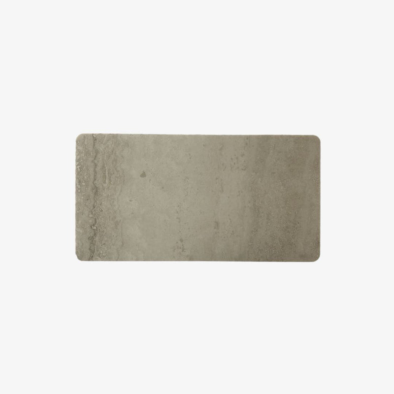Rectangle Stone Tray | Travertine Trivet Behr & Co