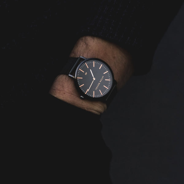 The Classic | Black and Rose Gold Watches After Hours Watches