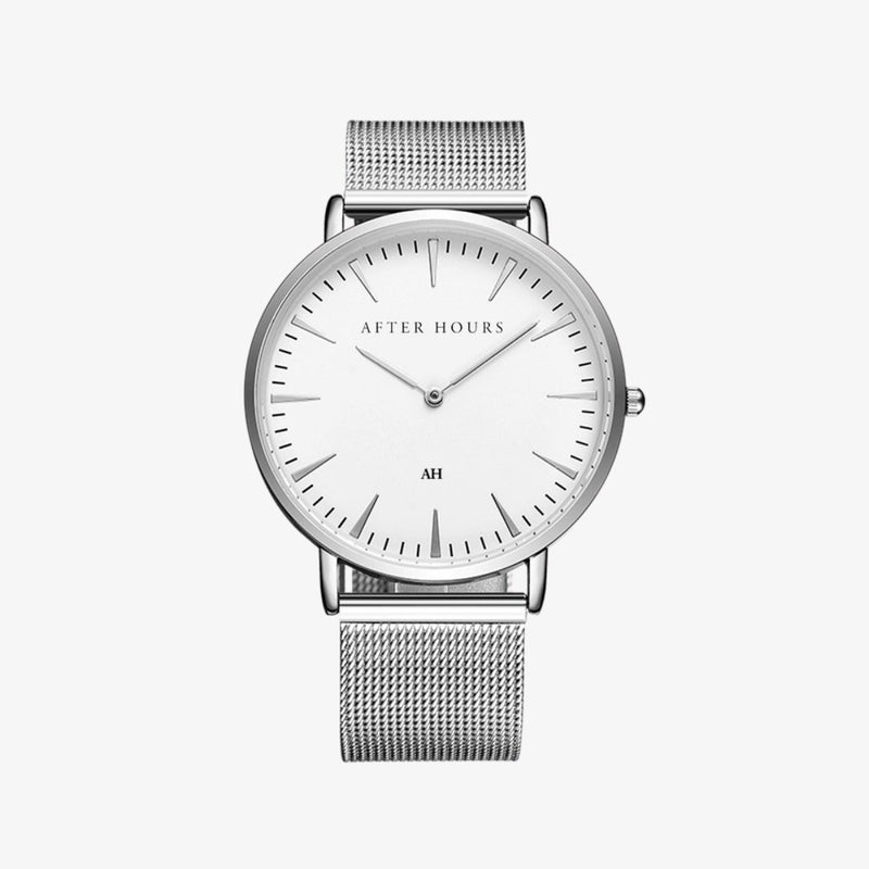 The Classic | Silver Watches After Hours Watches