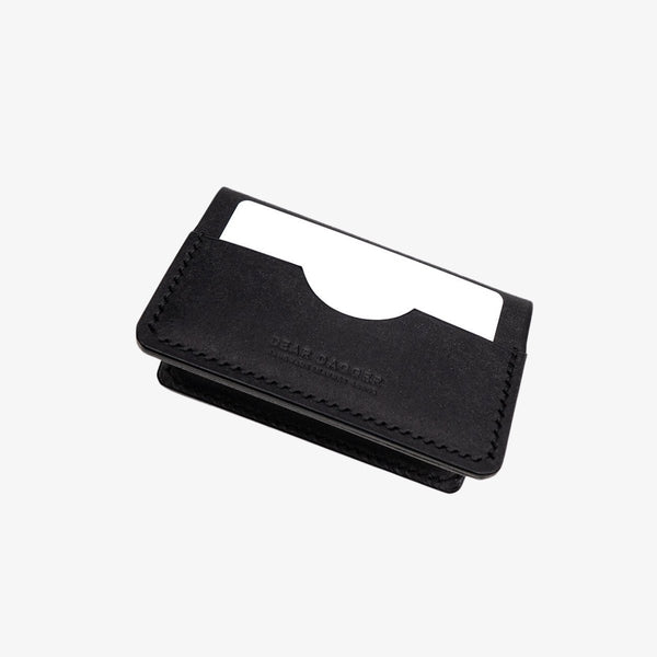 The Hunter | Black and Black Thread Bifold Dear Dagger