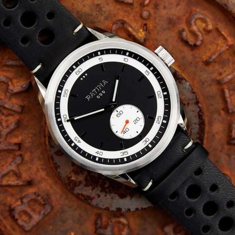 The Rambler | Black and Black Racing Watches Patina Watch Company