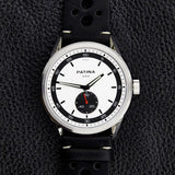 The Rambler | White and Black Racing Watches Patina Watch Company