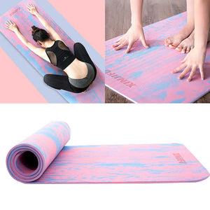 7MM TPE Non Slip Yoga Mat for Fitness