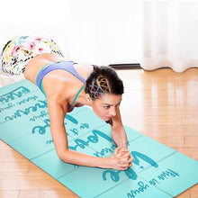 Load image into Gallery viewer, Foldable Non-slip Yoga Mats