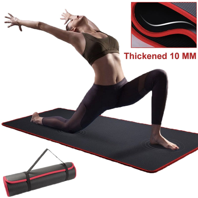 Extra Thick Mat For Yoga Lovers