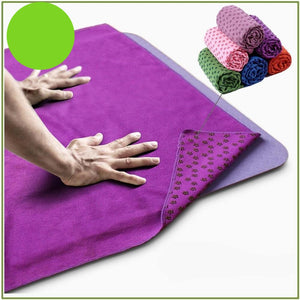 Anti Skid Microfiber Yoga Mat