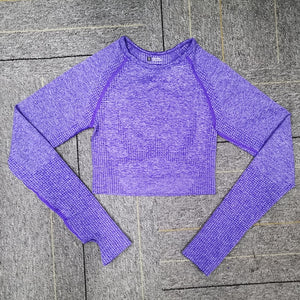 Long Sleeve Workout Tops for Women