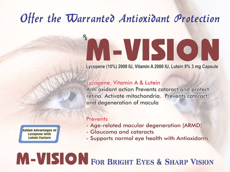 M VISION Pack of 10 Tablets