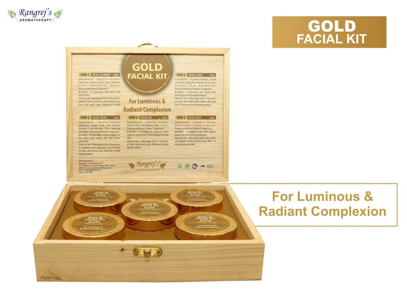 Rangrej's Aromatherapy Gold Facial Kit