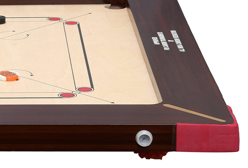 KD AAR-Kay Carrom Board Vinage Plywood Approved by Carrom Federation of India & International Carrom Federation