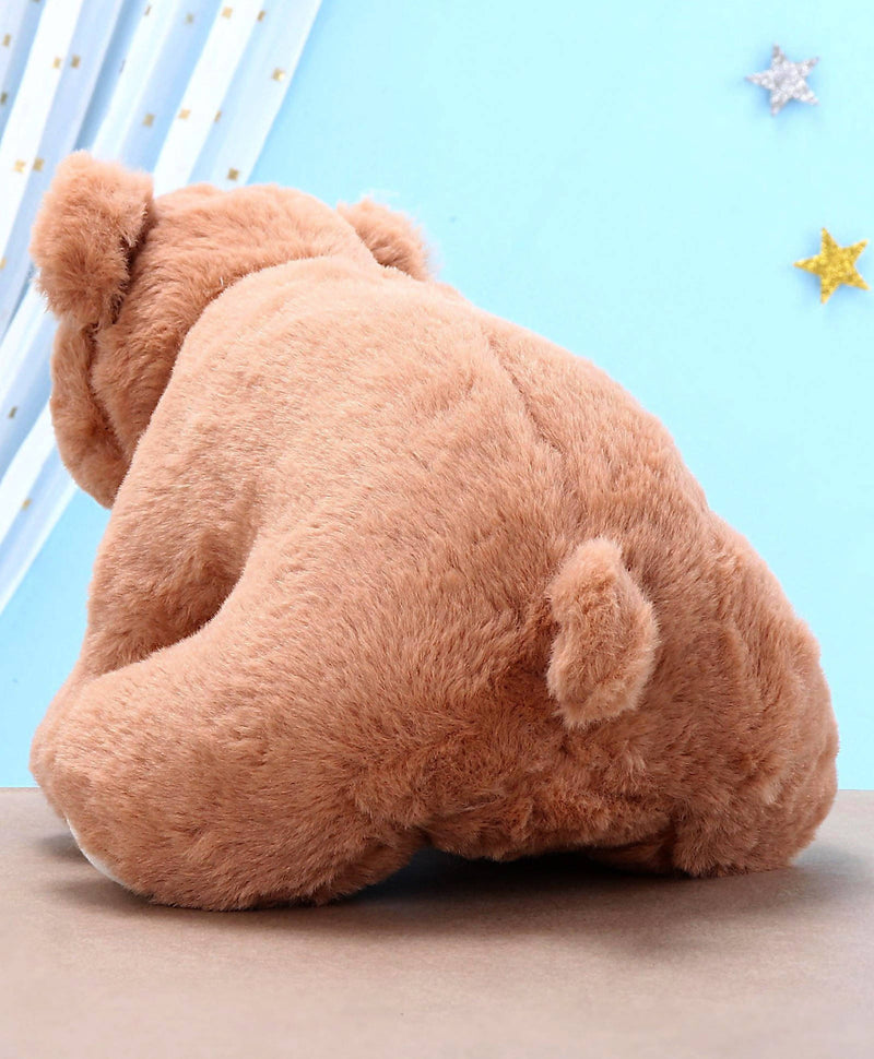 Polar Bear Soft Toy Brown - 27 cm