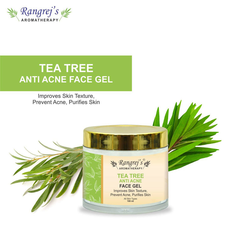 Rangrej's Aromatherapy Tea Tree Anti Acne Face Gel