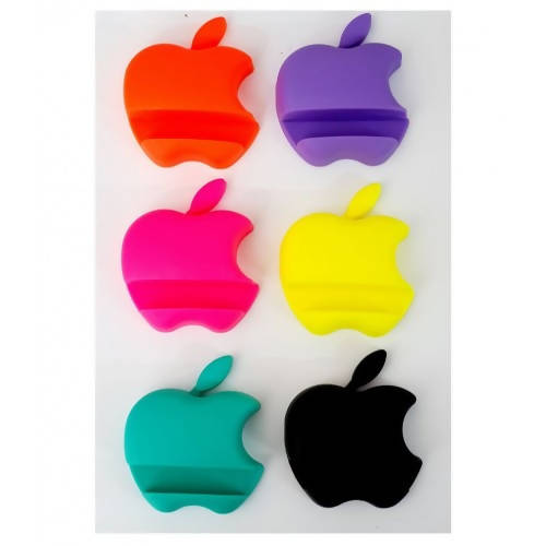 Apple Shaped Mobile Holder, Stand for Any Mobile Pack Of 3