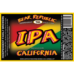 Bear Republic IPA®
