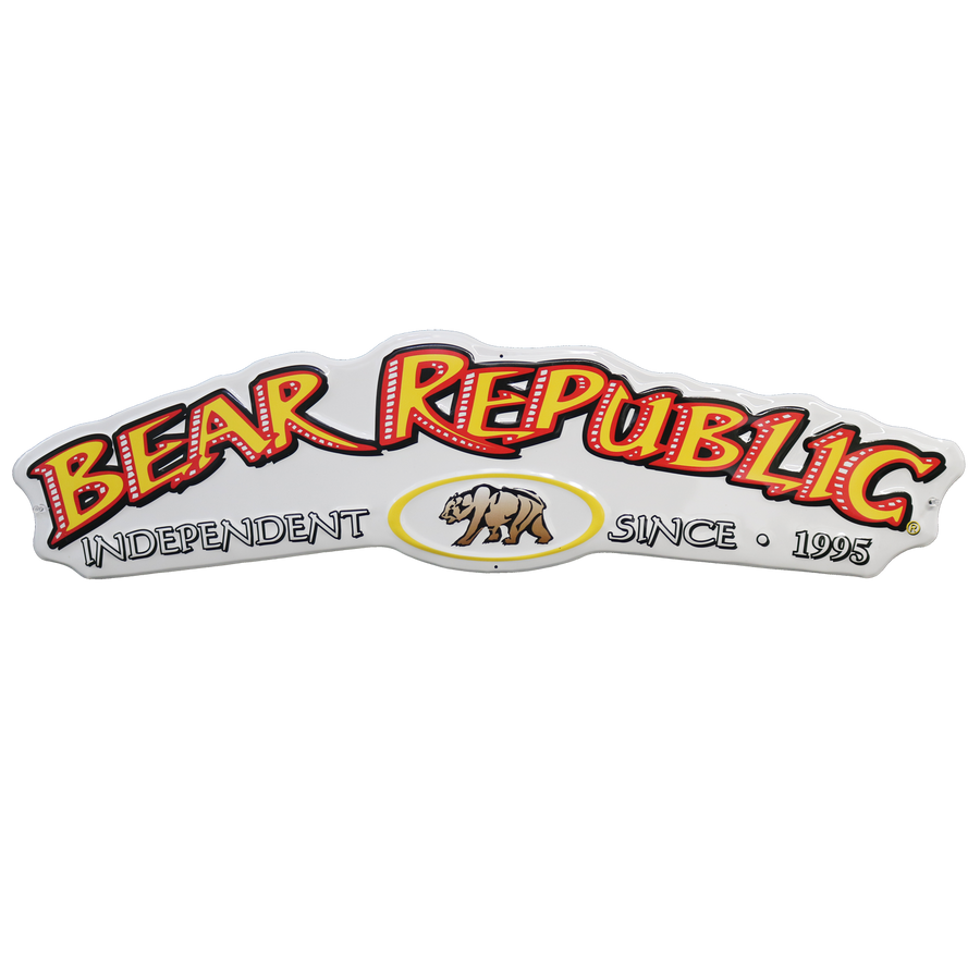 Bear Republic Metal Sign