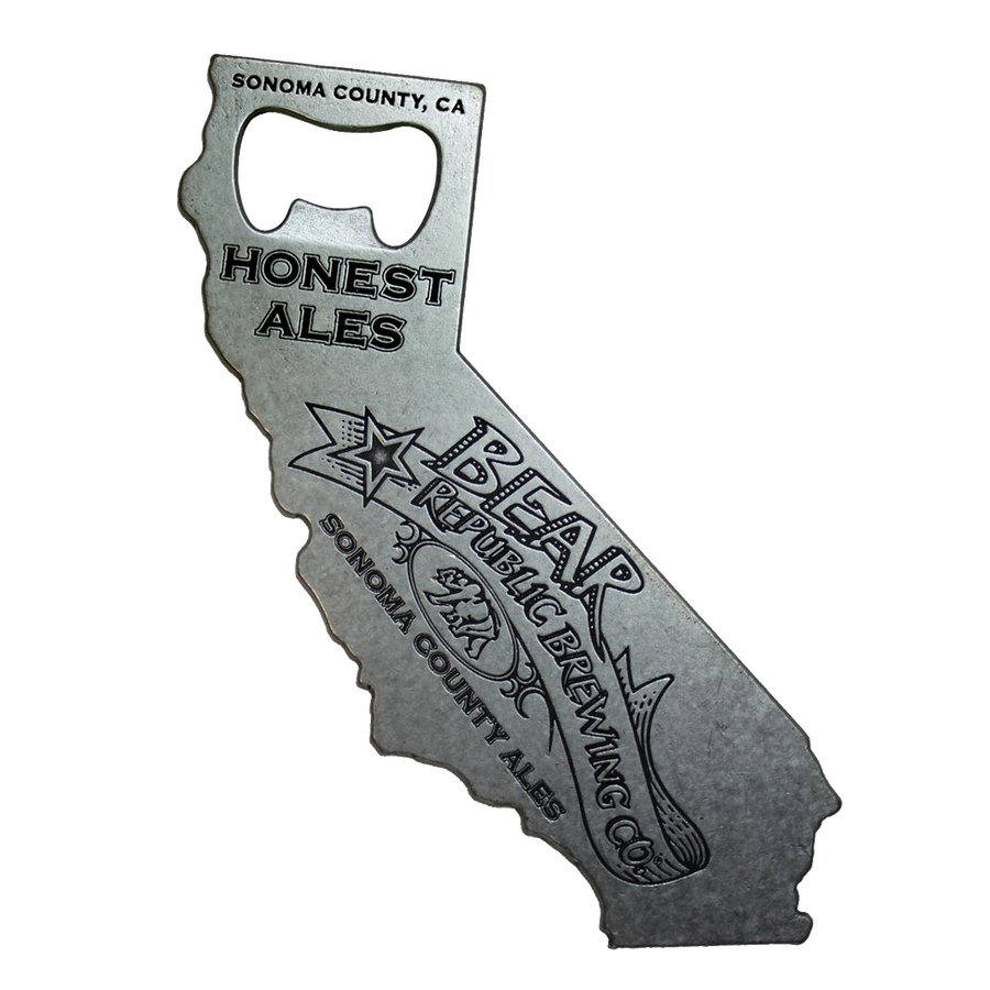 California BRBC Bottle Opener