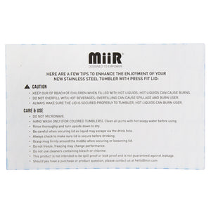 MiiR Insulated Legacy Pint Glass 16 oz