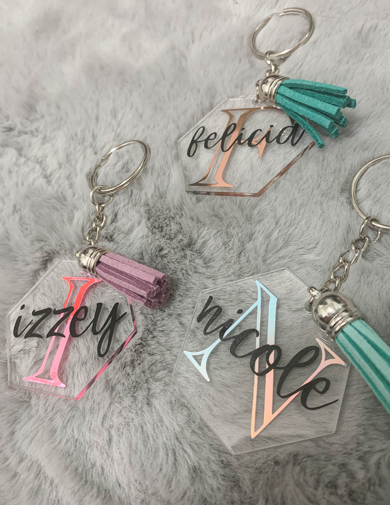 PERSONALIZED NAME KEYCHAIN
