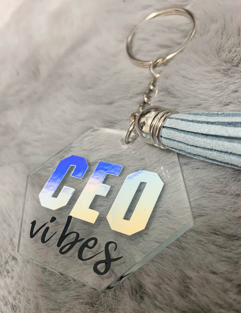 CEO VIBES KEYCHAIN
