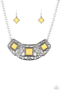 Feeling Inde-PENDANT - Yellow