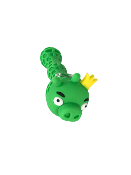 Green Dragon Silicone Hand Pipe - Original Puff