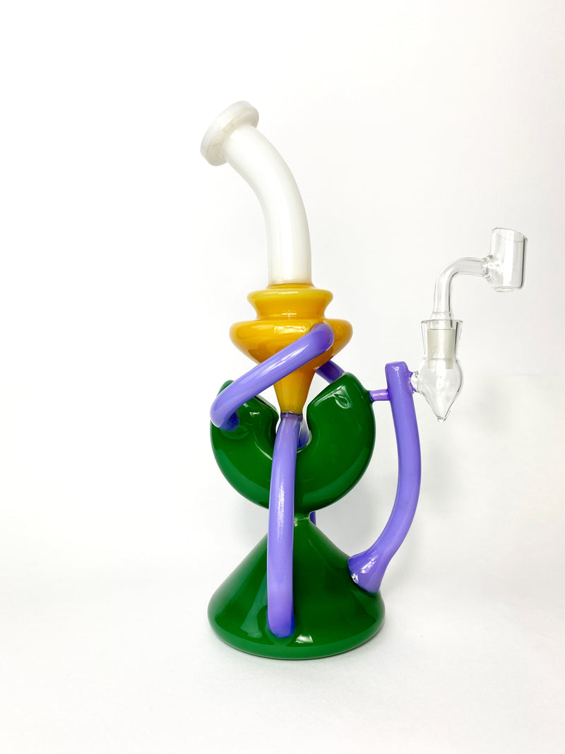 Xandy Mix Recycler Dab Rig 11'