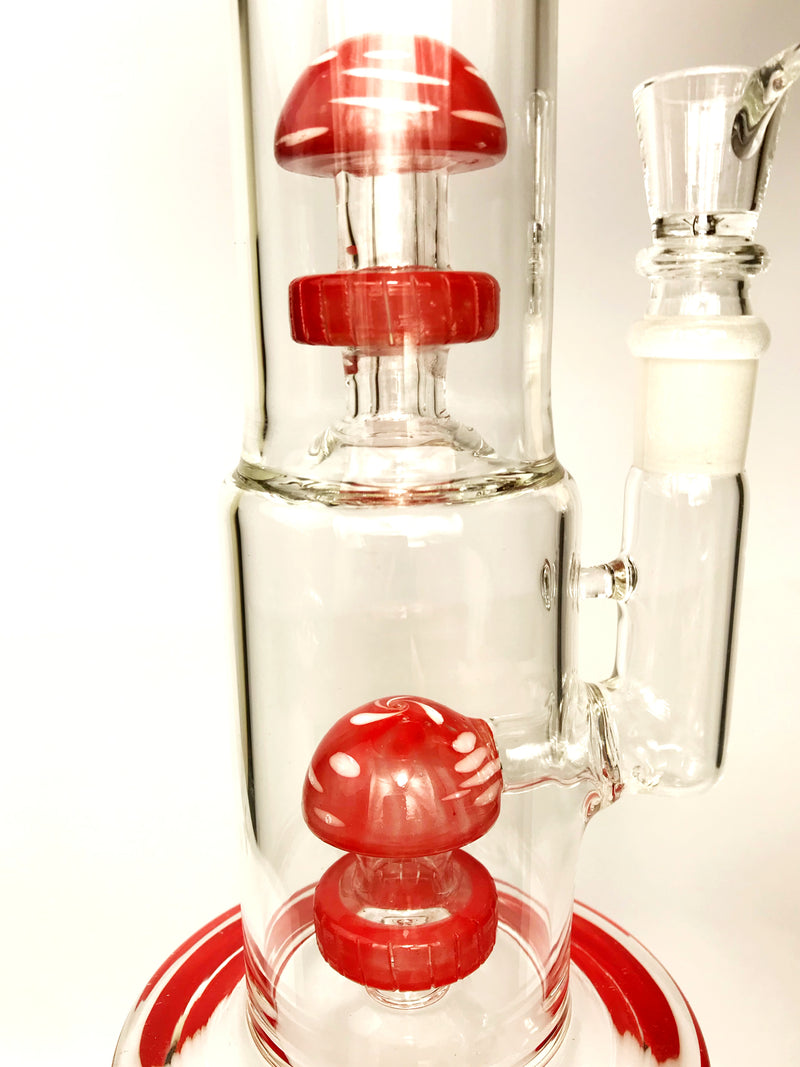 Red Double Wrapper  Bong