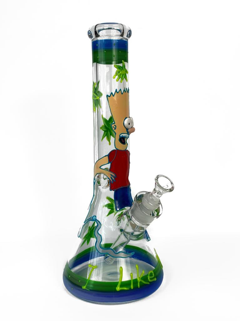 OriginalPuff Online Smoke Shop | The Simpsons Bart Beaker Bong 12'
