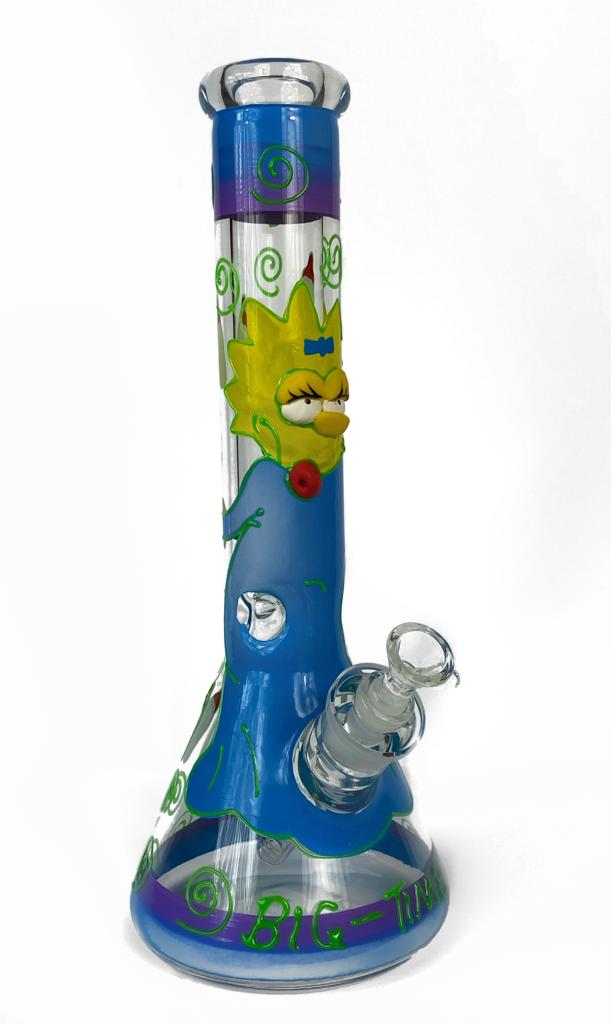 The Simpsons Maggy Beaker Bong 12'