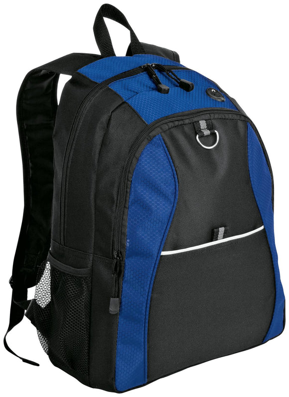 Port Authority® Contrast Honeycomb Backpack     BG1020