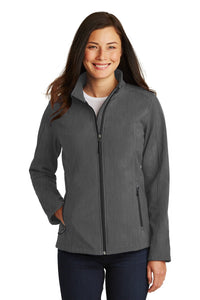 Port Authority® Ladies Core Soft Shell Jacket in Heathered Colors    L317