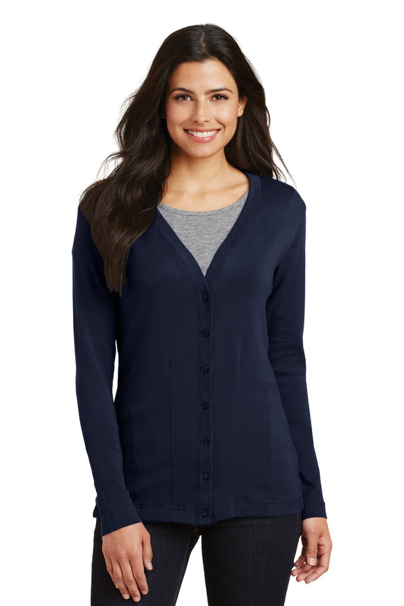 Port Authority® Ladies Modern Stretch Cotton Cardigan    L515