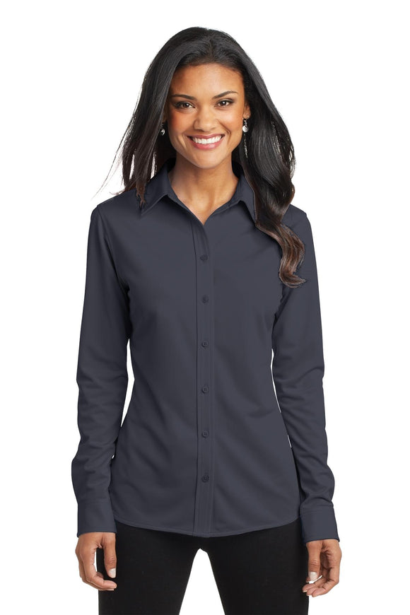Port Authority® Ladies Dimension Knit Dress Shirt    L570