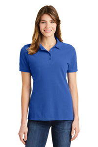 Port & Company® Ladies Combed Ring Spun Pique Polo     LKP1500