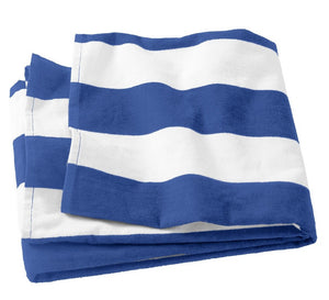 Port Authority® Cabana Stripe Beach Towel     PT43