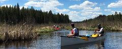 Canoe trip: Beartrap Lake, Prince Albert National Park