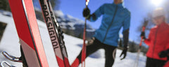 Nordic skin skis: the new