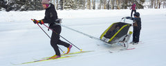Review: Thule Chariot with ski attachment